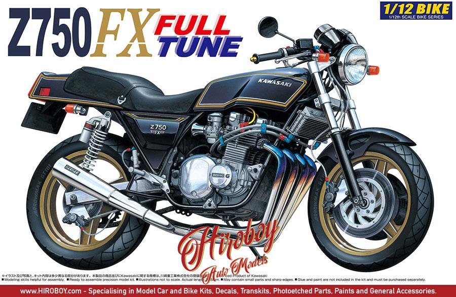 112 Kawasaki Z750 FX Full Tune