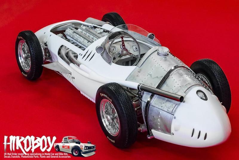 1:12 maserati 250f full detail kit - ver.c : 1957 rd.4 french gp