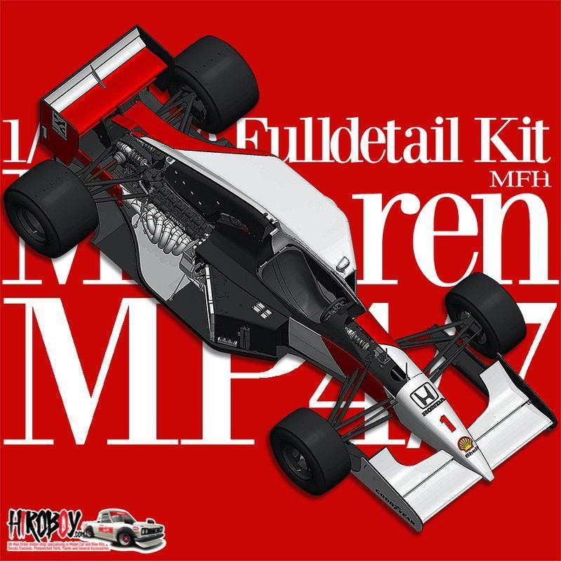 1 12 McLaren MP4 7 Ver A 1992 Rd 6 Monaco GP Winner 1 A Senna 2 G Berger