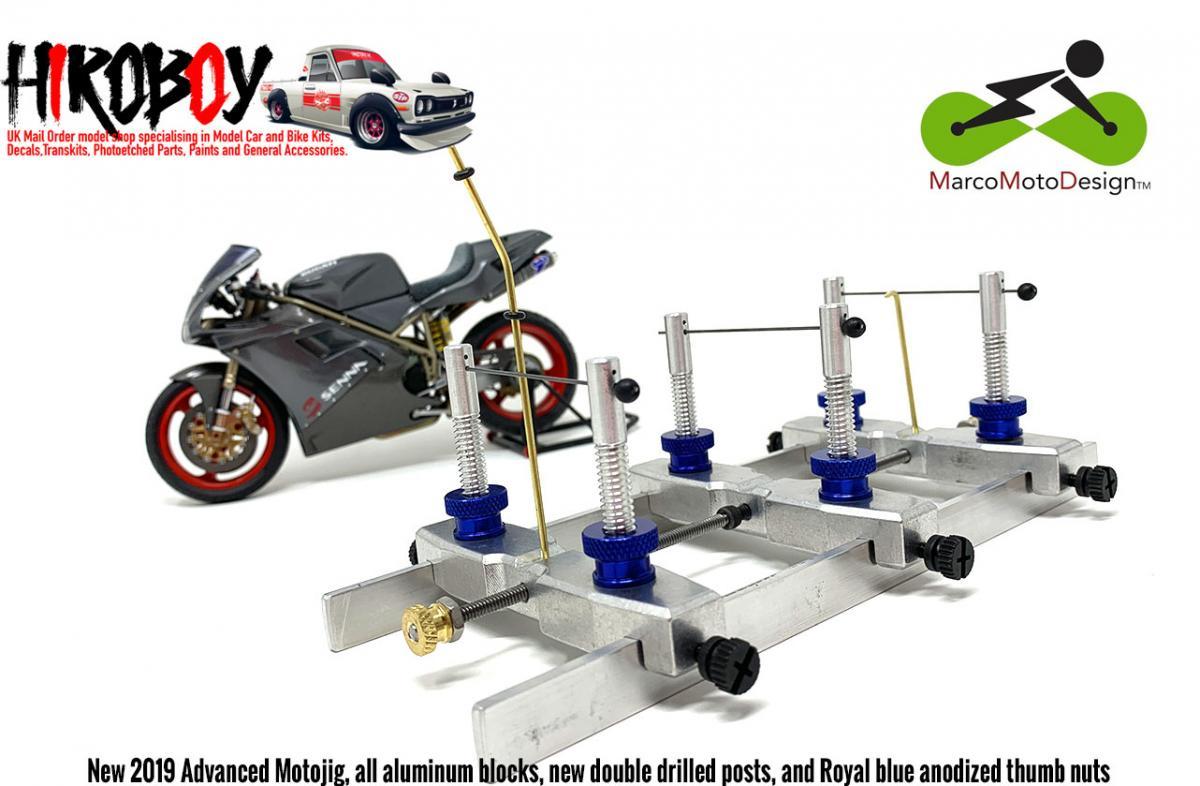 1:12 MotoJig 2019 Advanced Version (Model Bike Building Jig)