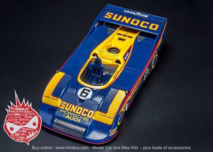 1:12 Porsche 917/30 Full Detail Multi Media Model Kit