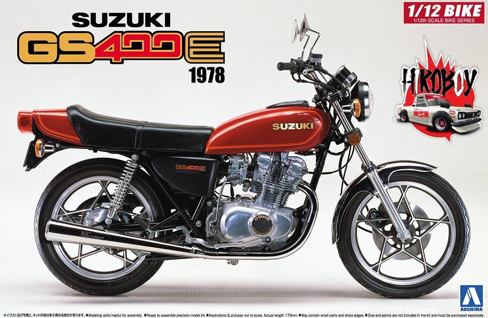 Kawasaki 900 Super4 Z1 Brown Motorbike 1:12 Model AOSHIMA