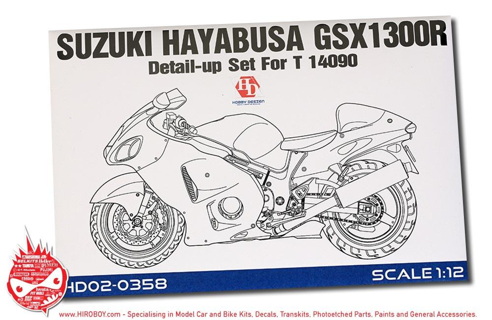 1:12 Suzuki Hayabusa GSX 1300R Detail Up Set For Tamiya 14090