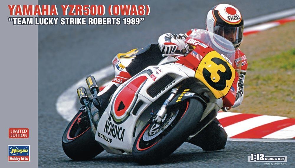 Hasegawa BK-3 1//12 Scale Model Kit Yamaha YZR500 OW98 Eddie Lawson MotoGP/'88