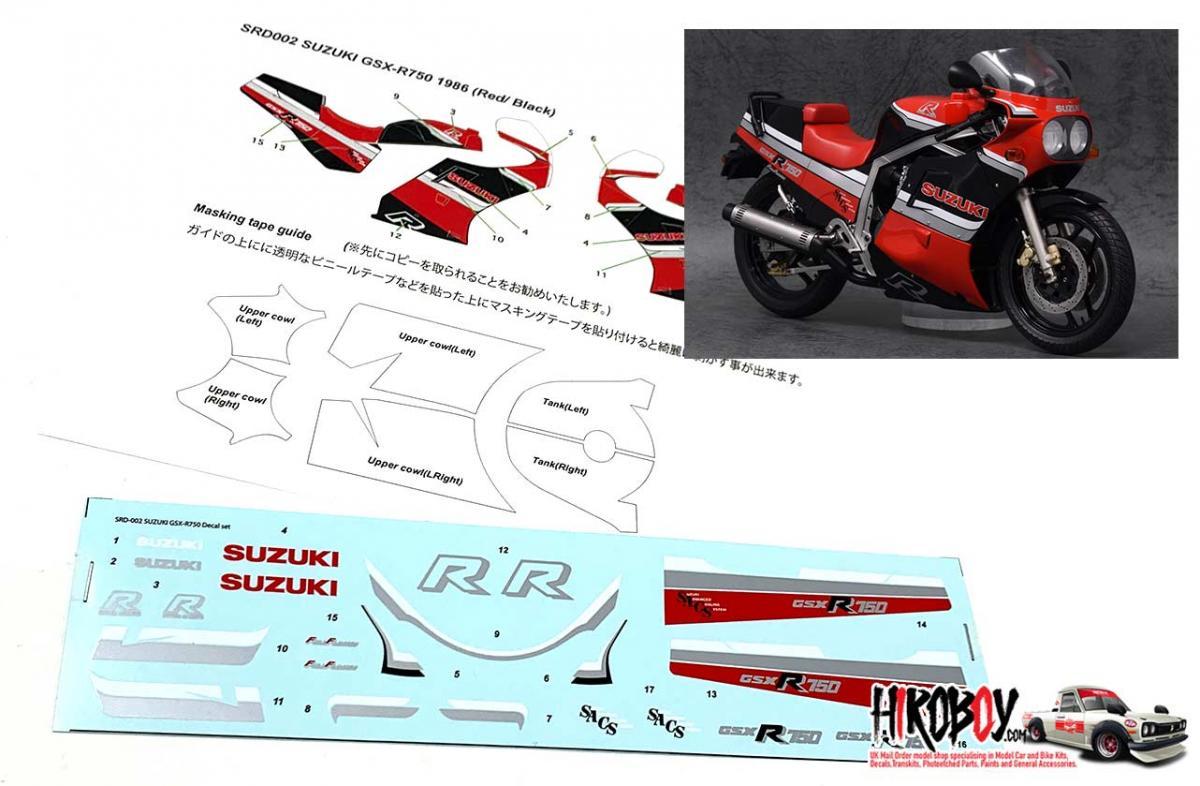 sbk sponsor decal kit fits all suzuki gsxr motorcycles