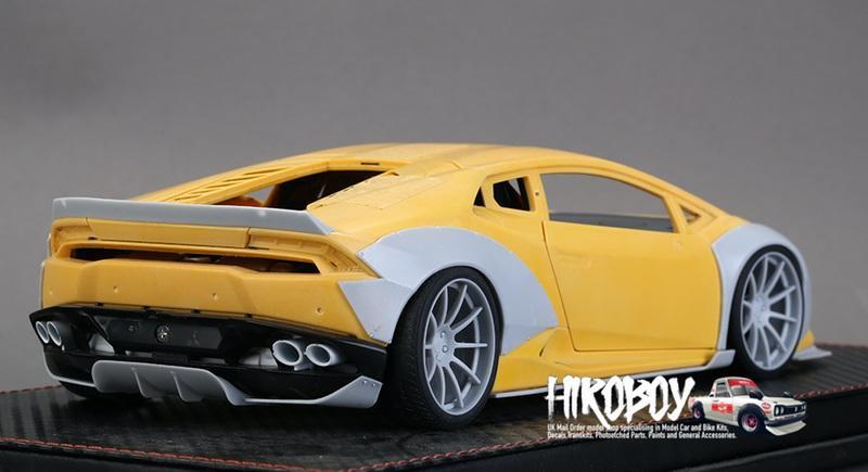 118 Lb Performance Lamborghini Huracan Wide Body Kit For Autoart