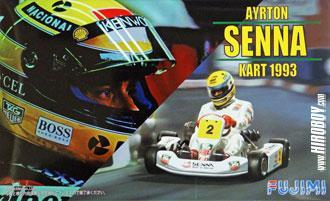 8d10383c503b6 1 20 Ayrton Senna Kart 1993
