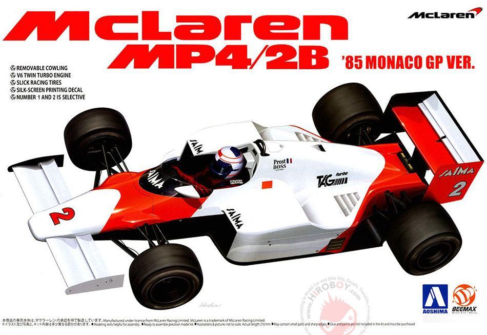 Marlboro F1 1985 Prost//Lauda//Watson McLaren MP4//2 TAG Turbo 1//43 Decal