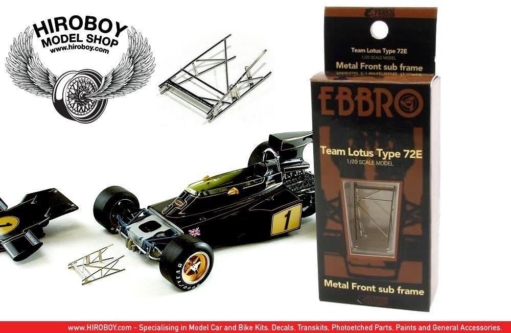 1:20 Team Lotus Type 72E Metal Front Sub Frame # 62001 | EBR-62001 ...