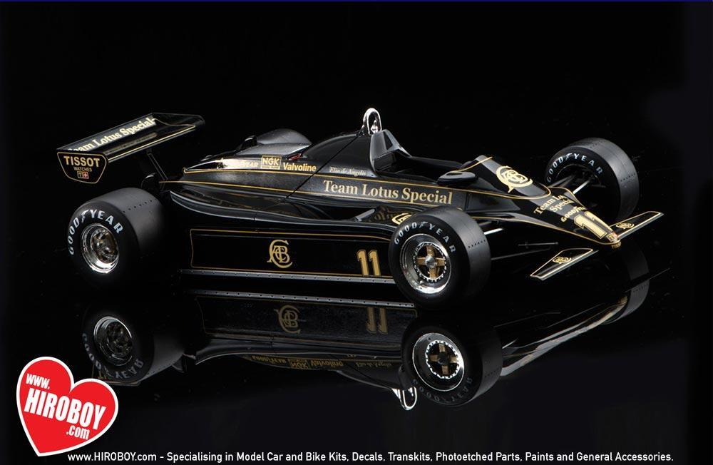 ... 1:20 Team Lotus Type 91 Belgium GP (Lotus 91) By Ebbro