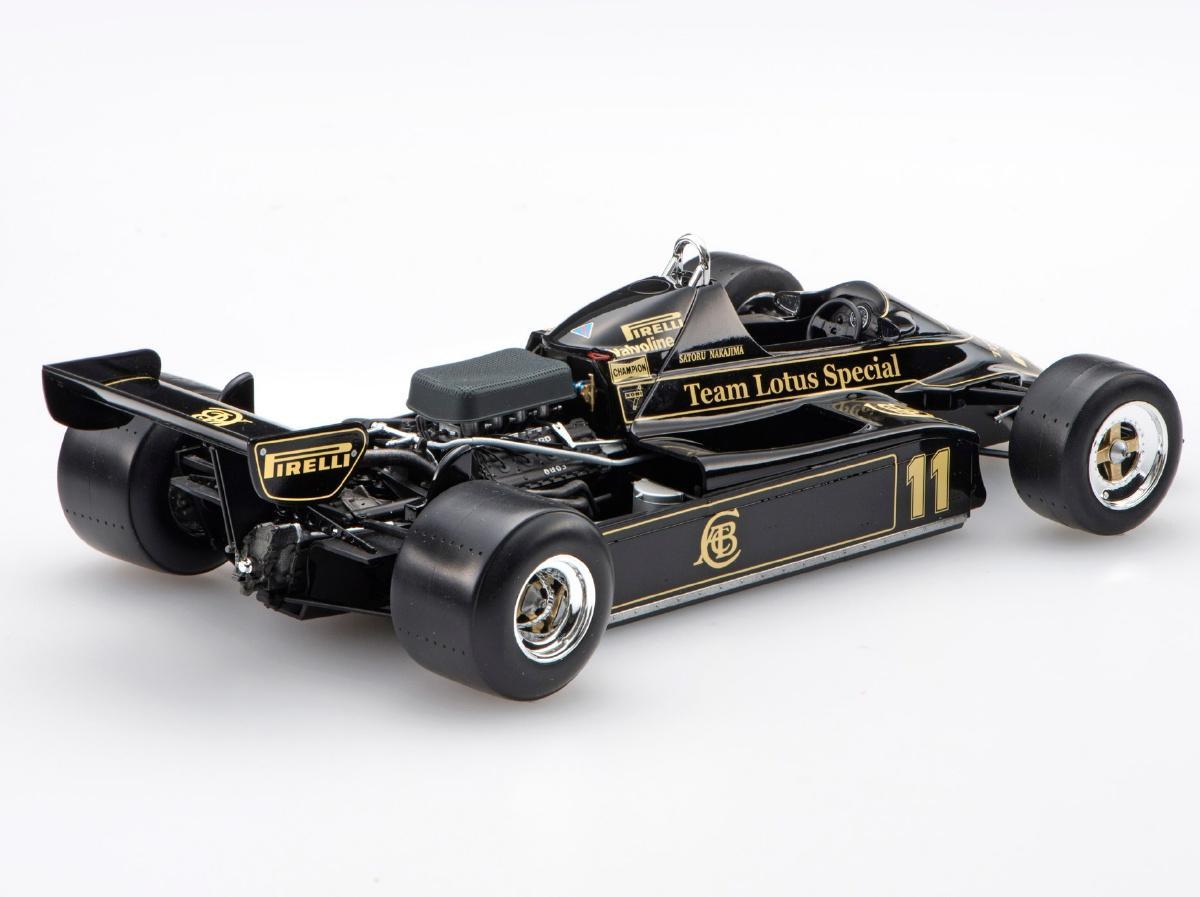 ... 1:20 Team Lotus Type 91 1983 Satoru Nakajima First F1 Test ...