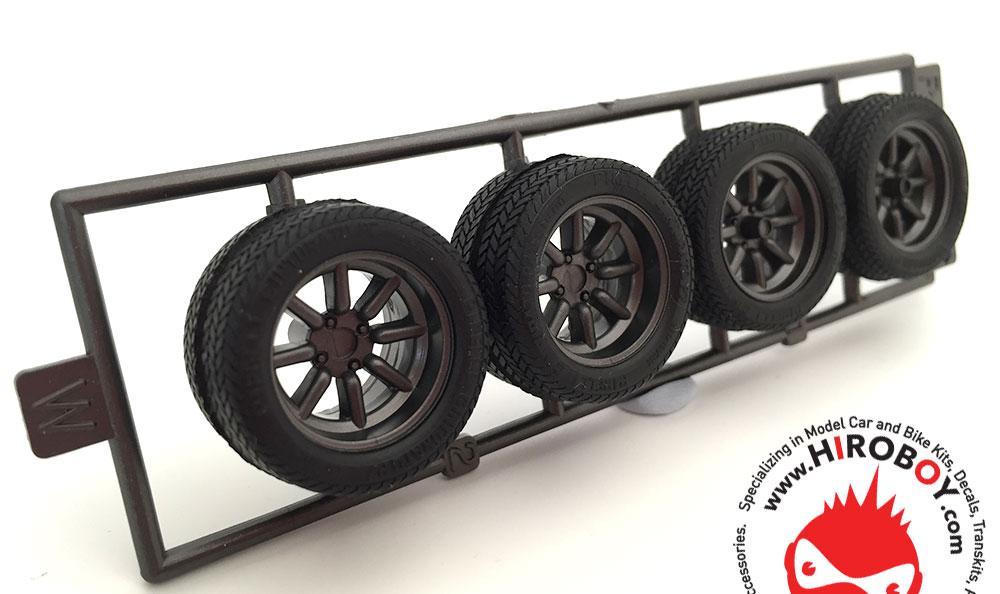 1 24 15 rs watanabe wheels and tyres fuj 192994 fujimi