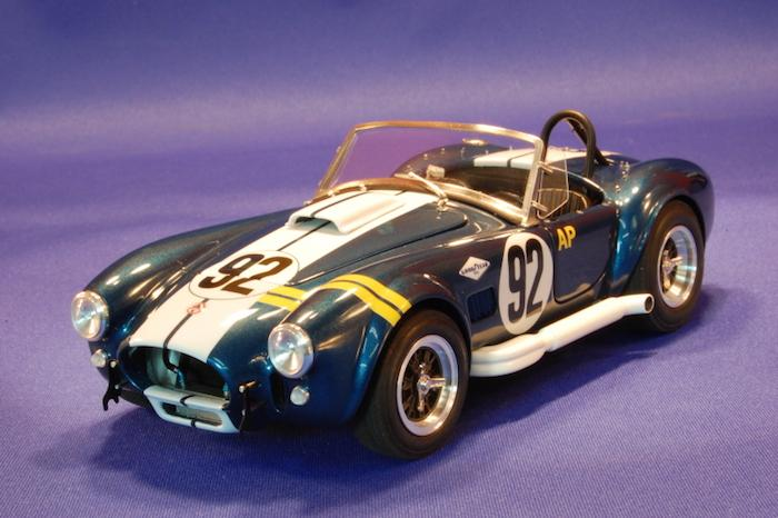 ac cobra. 1:24 ac cobra 427 vera multi-media model kit ac