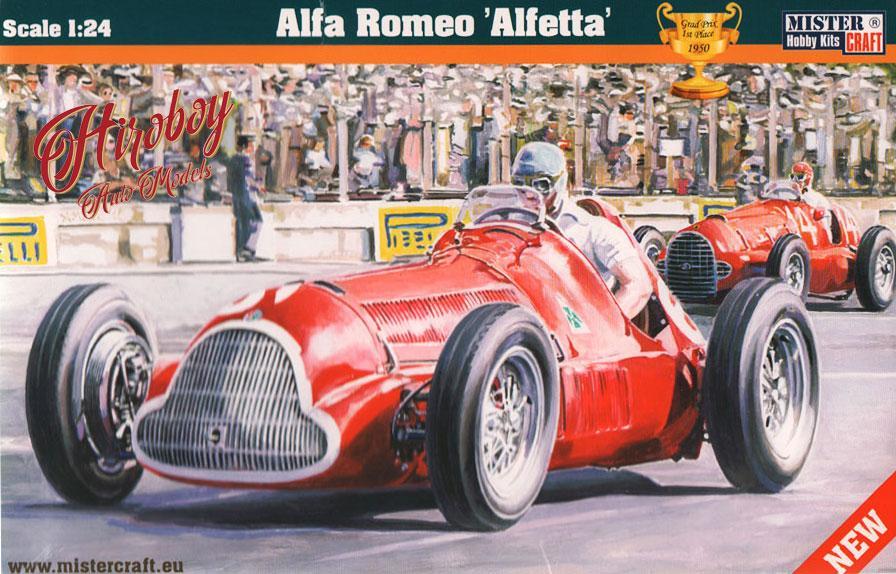 Alfa Romeo Alfetta Model Kit MCD MisterCraft - Alfa romeo scale models