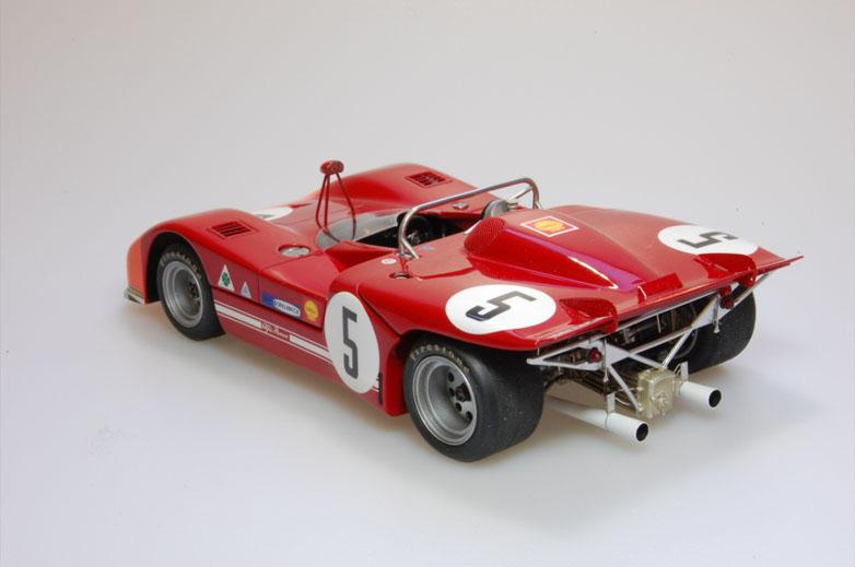 Alfa Romeo Tipo Tipo Late Type B MultiMedia Model Kit - Alfa romeo scale models