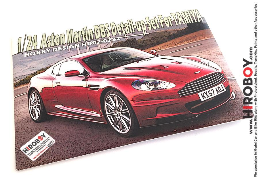 1:24 Aston Martin DBS Photoetch Detail-Up Set for Tamiya | HD02-0282
