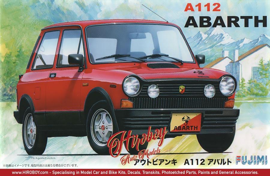 1:24 Autobianchi A112 Abarth | FUJ-126173 | Fujimi