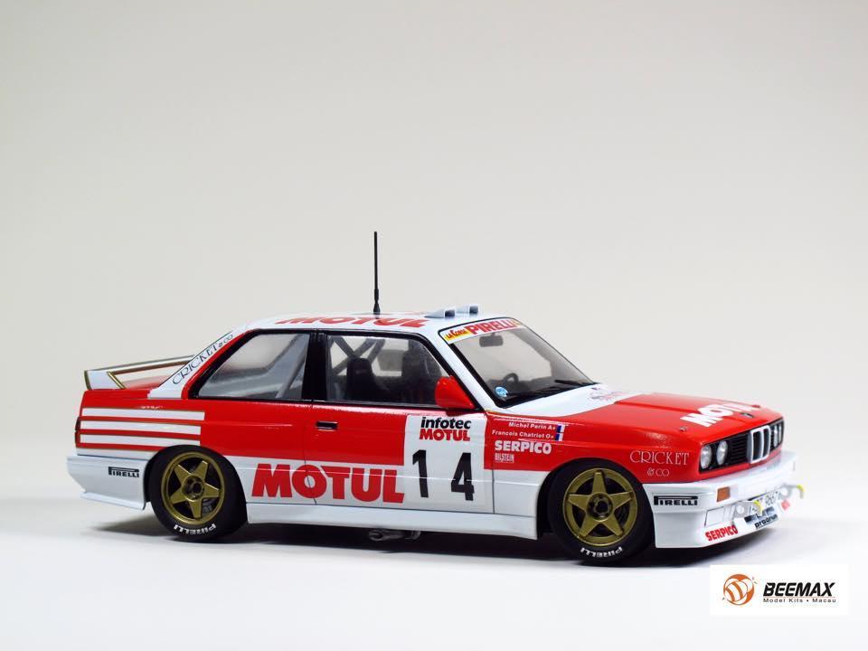 1 24 Bmw M3 E30 1989 9 Tour De Corse Rally
