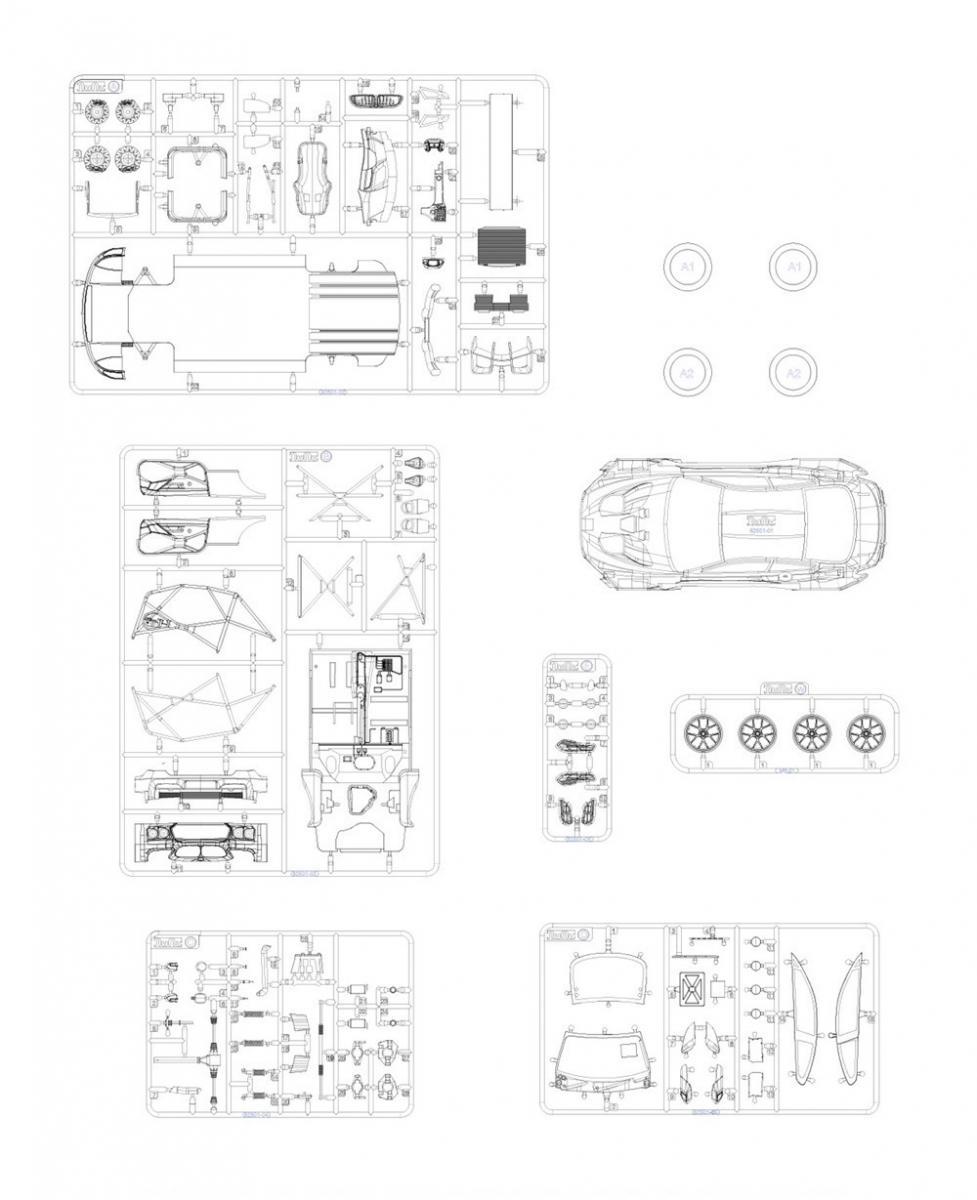 1 24 bmw m6 gt3 rowe racing team model kit by platz plzpn24001 platz 1969 Subaru Sambar 1 24 bmw m6 gt3 rowe racing team model kit by platz