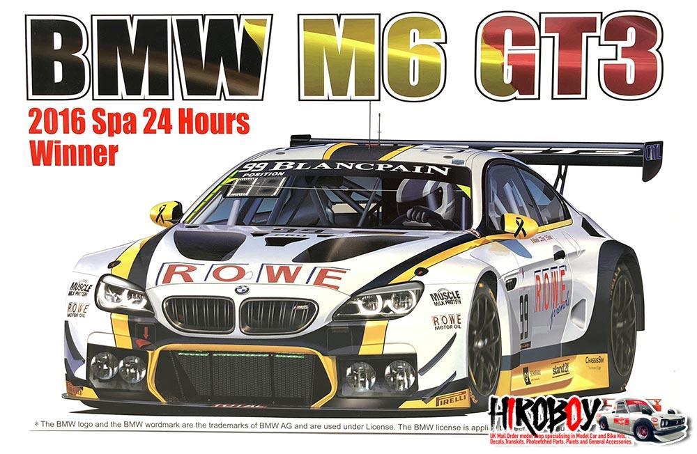 2df6f47880ee2 1 24 BMW M6 GT3 ROWE Racing Team Model Kit by Platz