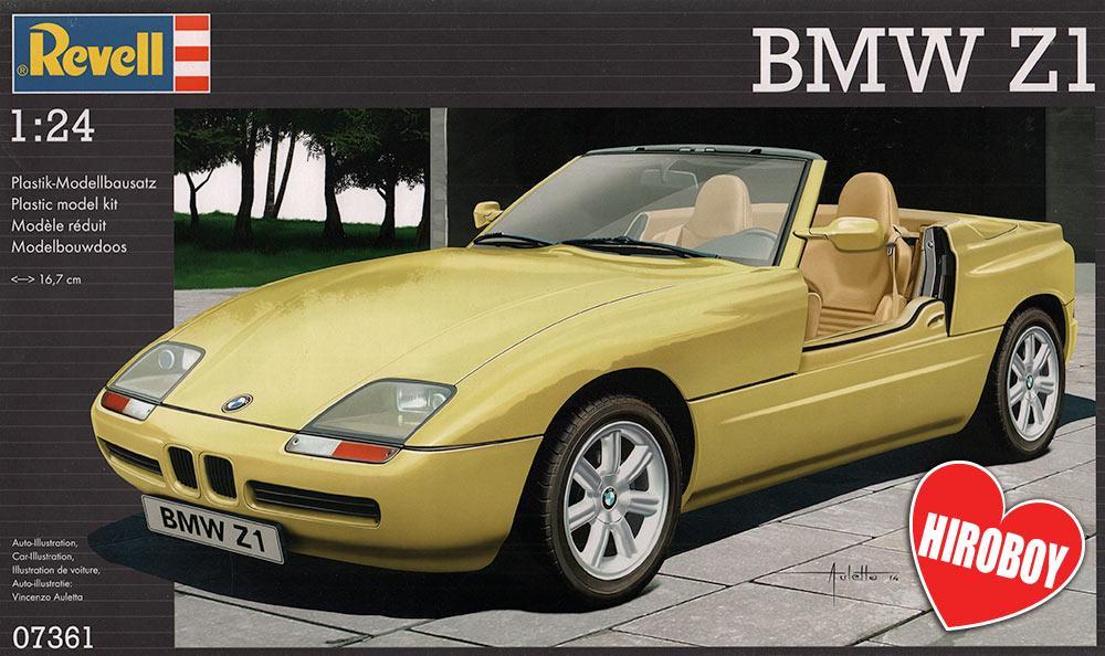 1:24 BMW Z1 Model Kit   REV-07361   Revell