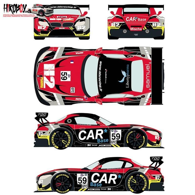 Bmw Z4 Gt3 Price: 1:24 BMW Z4 GT3 #59 European Le Mans Series 2015 Decals