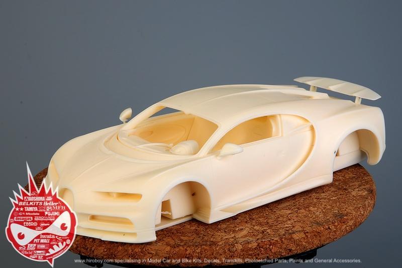 1:24 Bugatti Chiron Full Resin Kit