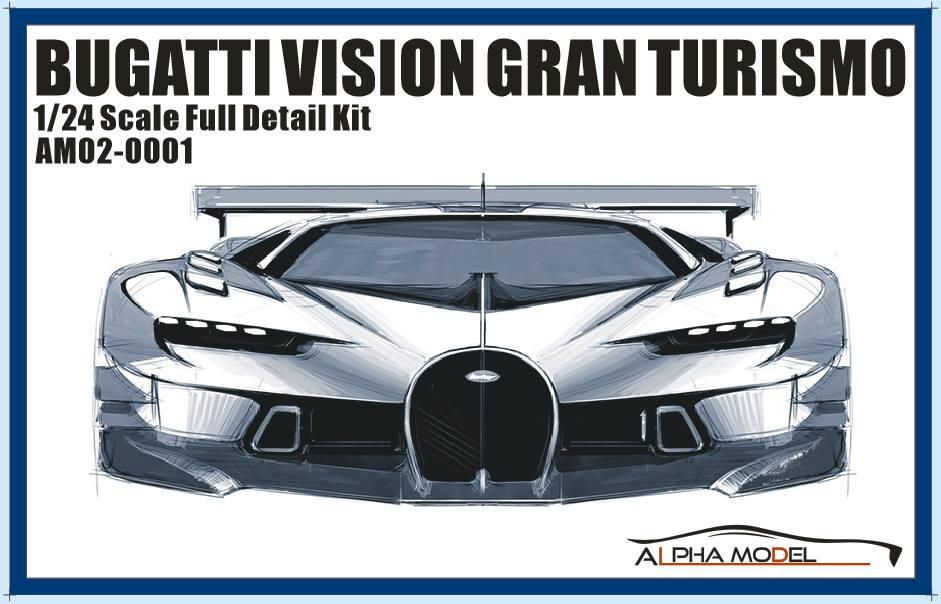 796564d6e 1 24 Bugatti Vision Gran Turismo - VGT Full Resin Model kit