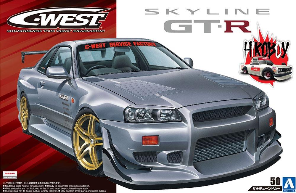 best website 811ac ea5f7 1 24 C-West Nissan Skyline R34 GT-R