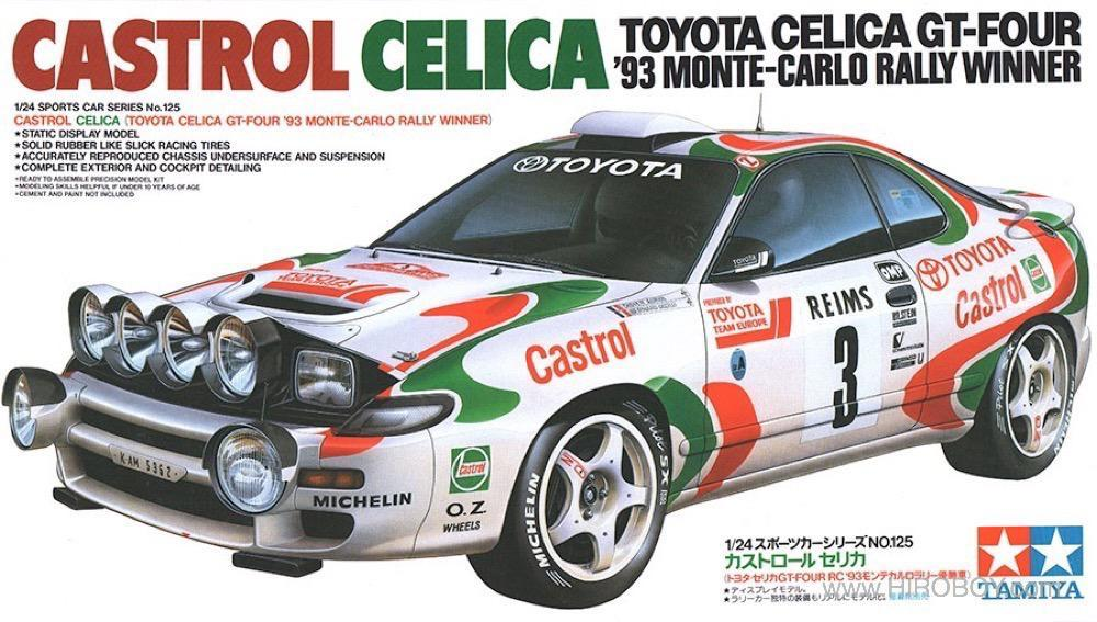 1 24 Castrol Celica 24125 Tam24125 Tamiya