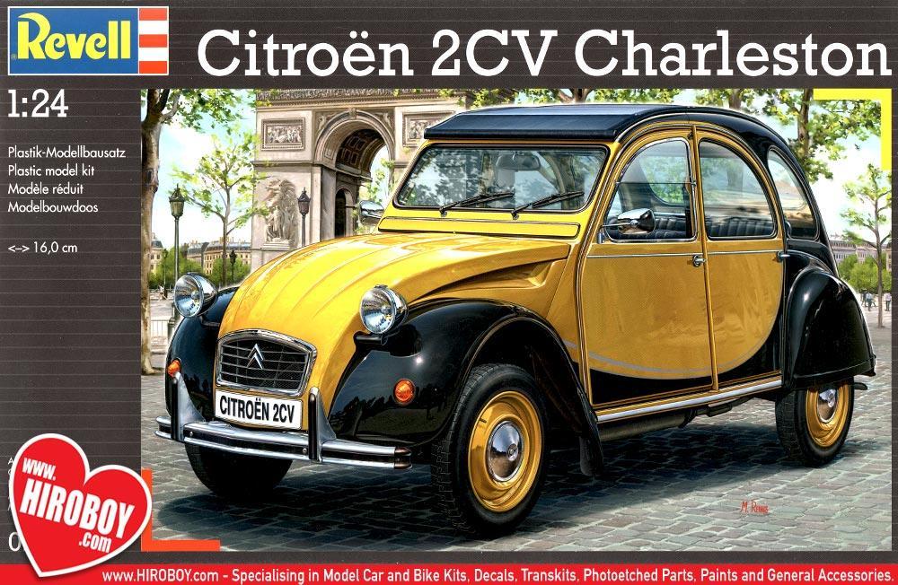 2cv charleston decals