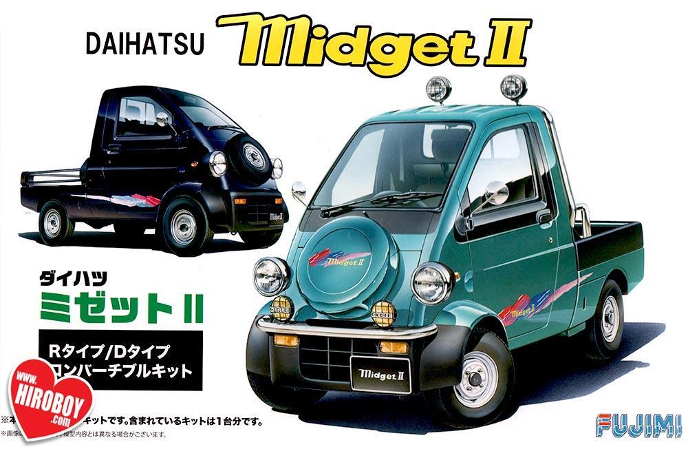1 24 Daihatsu Midget Ii Type R Type D Model Kit Fuj 039091 Fujimi