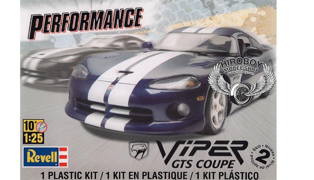 Dodge Viper GTS Coupe Blau 1992-2002 1.Generation Bausatz Kit 1//24 Bburago Mod..