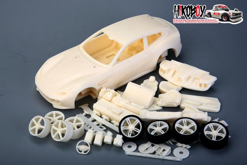 1 24 Ferrari Gtc4lusso T Full Resin Model Kit Am02 0007 Alpha Models