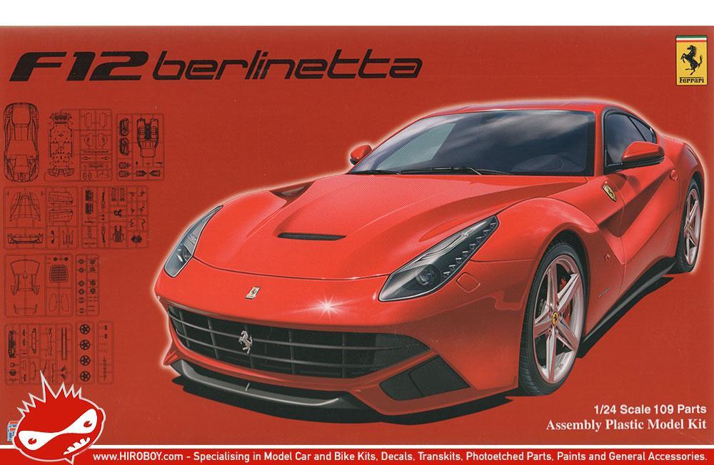 1 24 Ferrari F12 Berlinetta Model Kit Fuj 126197 Fujimi