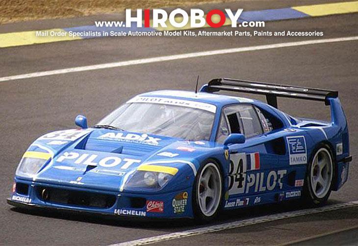 1:24 Ferrari F40-LM 1995 Le Mans