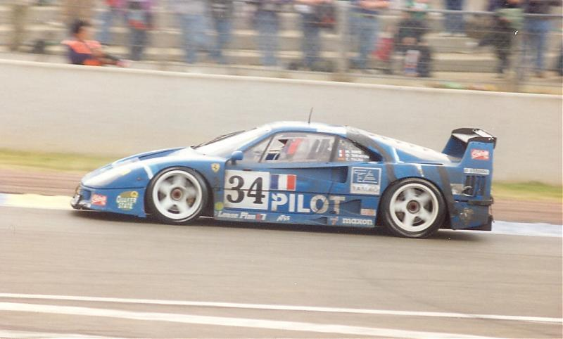124 Ferrari F40 Lm 1995 Le Mans Pilot Decals Msmd194 Msm Creation