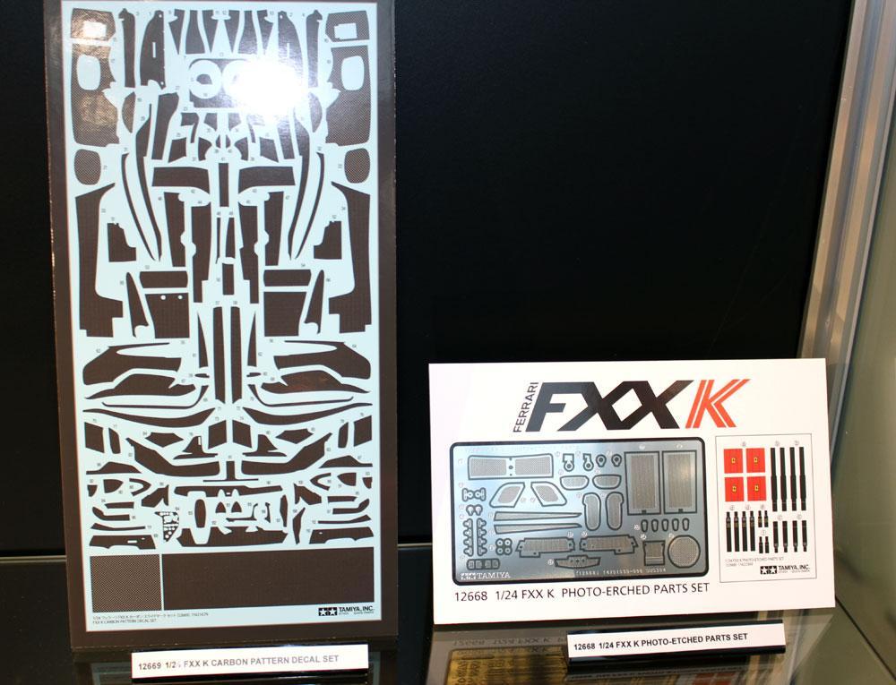 1:24 Tamiya 12669 Karbon Muster Abziehbilder für Ferarri FXX K