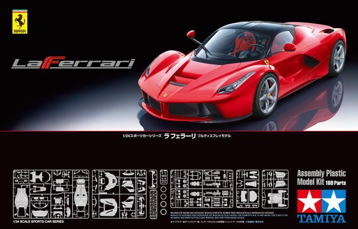 1 24 Ferrari Laferrari 24333 Tam24333 Tamiya