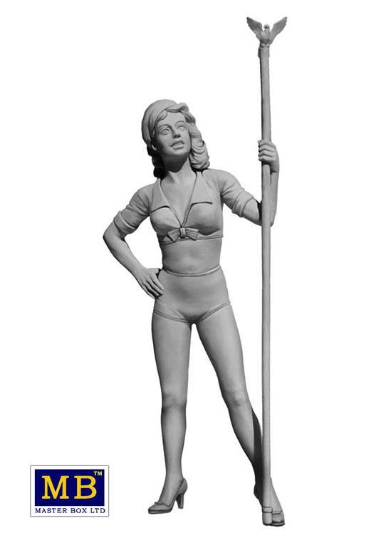 1:24 Figure Pin Up Series #2 Betty   MAS24002   Masterbox