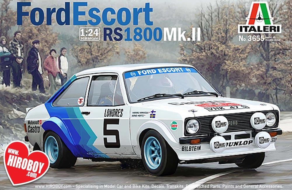 1:24 Ford Escort MKII | IT-3655 | Italeri