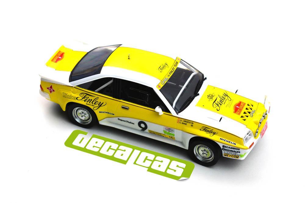 124 Opel Manta 400 Group B Opel Finley Team Rallye Catalunya 1984