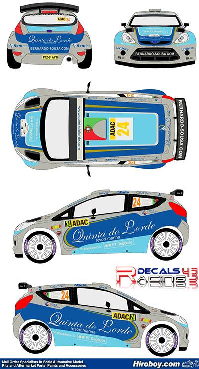 #35 OLEKSOWICZ-RALLYE RACC CATALOGNE 2012 NCM071 DECALS 1//43 FORD FIESTA S2000
