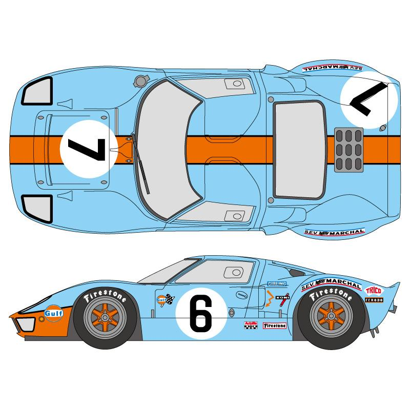 Fast Furious Racers Edge High Performance Auto Parts 1:24 Water Slide Decals