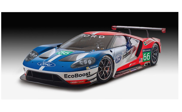 1 24 Ford Gt Le Mans Model Kit Revell Rev 07041 Revell