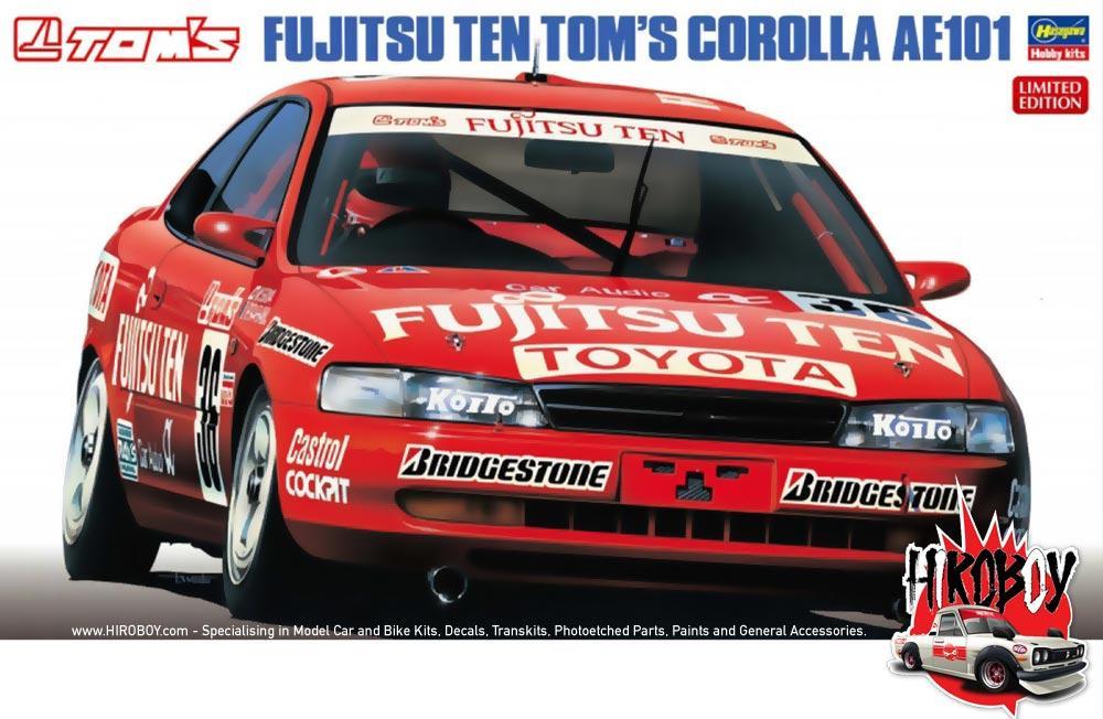 1 24 Fujitsu Ten Tom U0026 39 S Corolla Ae101