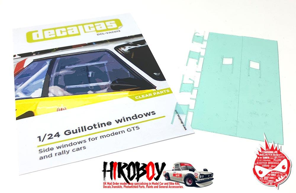 1:24 Guillotine windows for modern GTS and rally cars - Type 01 ...