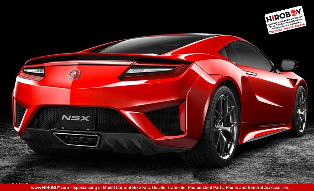 ... 1:24 Honda NSX (Acura) 2016 Model Kit 24344