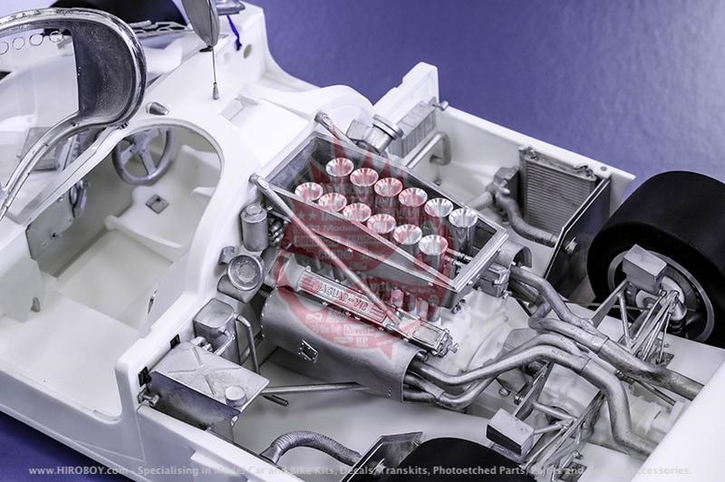 1:24 Jaguar XJR-9 1989 LM Ver B - Full Detail Multi Media ...