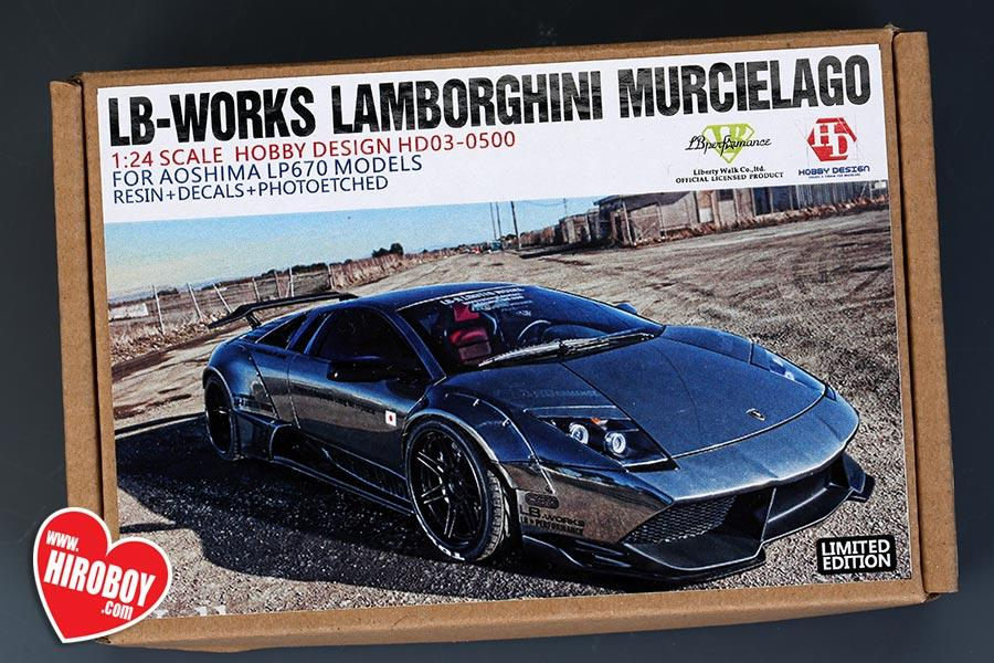 1 24 Lb Works Lamborghini Murcielago Lp640 Wide Body Kits Hd03 0500